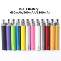 Ego-T batería cigarrillo electrónico 650mAh 900mAh 1100mAh ego ECIG 510 hilo vaporizador para CE4 MT3 PROTANK
