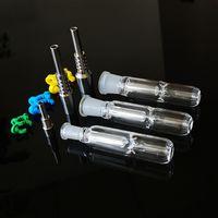 10mm 14mm 19mm Joint Nector Collector Kit Huile DAB Plateaux Piches d'eau de paille Nector Collectionneurs avec Nector Nector Titanium Nector NC09