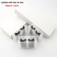 visofree 30 pairs pack 3D Mink Lashes With Tray No Box Hand ...
