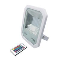 Projecteur LED Projecteur d'extérieur en aluminium 30W 50W 100W SMD 2835 Projecteur LED étanche IP66 RVB Blanc Blanc chaud