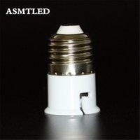 Merk E27 To B22 Adapter Hoge Kwaliteit Materiaal Vuurvaste Materiaal Socket Adapter LED Lampen Graan Lamp Ure 1pcs / lot