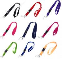 العالمي الحبل الأسود / الأزرق / WHITE 15 COLORS STRAP متاح لجميع الهواتف المحمولة HOT SALE STRING NECK STRAP