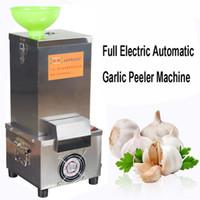 Handelsknoblauch-Schälmaschine-elektrischer Knoblauch-Schäler 220v kleine trockene Art Knoblauch-Schäler verwendbar für Hotel-Restaurant