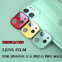Para IPhone 11 Lens Film iPhone para 11 Pro Tela Max Camera Lens Protector Titanium cobertura completa Com Retail Box