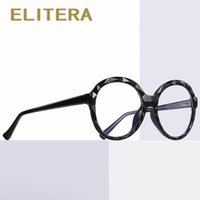 ELITERA Brand TR90 Round Frame Blue Light Glasses New Women ...