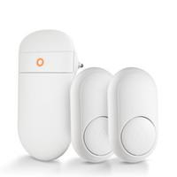 NOUVEAU Sonnette auto puissance batterie pas besoin audio sonnette kits système téléphonique sans fil interphone