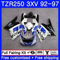 Kit per Yamaha TZR250RR RS TZR250 92 93 94 95 96 97 245hm.aa TZR 250 3xv Cowling White YPVS TZR 250 1992 1993 1994 1995 1996 1997 Fairing