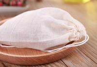 venta caliente 10 * 15cm bolsas baño de pies de puro algodón de gasa adobo fragantes hojas de ajenjo al vapor de hierbas pie bolsas de burbuja