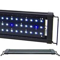 """3 Modèles 12 """"18"""" 24 """"Long Aquarium LED Luminaire Eau Douce Marine Réservoir de Poissons Tropicaux LED Lampe Éclairage AC110-240V"""
