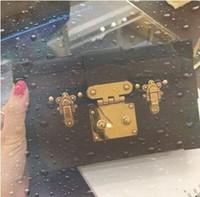 M53828 몸집이 작은 MALLE 여성 핸드백 ICONIC 가방의 TOP 핸들 어깨 가방 토트 크로스 바디 백 리 볼리 브라운 가죽 레이디 패션 핸드백