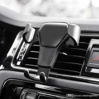 Greavity Car Air Vent Mount Cradle Holder Stand para iPhone GPS móvel celular