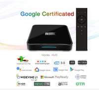 Google Certified KM3 ATV Android 9. 0 Smart TV Box Amlogic S9...