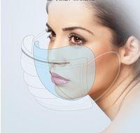 50 pz Usa E Getta viso maschere antipolvere Bocca Maschera Anti PM2. 5anti polvere di respirazione maschere di sicurezza Viso Cura elastico