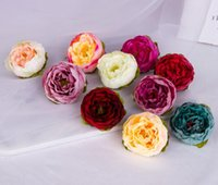 Europeony simulates peony flower wedding wall decoration wre...