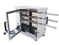 Makine Avrupa Kek Fırın Ekmek Rulo yapma Macar Twister Baca Ekmek Pasta Rulo Izgara Makinesi Pişirme Makinesi