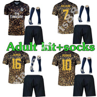 20 21 Real Madrid Soccer Jerseys Peligro Camisetas de Fútbol 2020 2021 Año Nuevo Chino Edición especial 4th Concept Kit de adultos Camisetas de fútbol