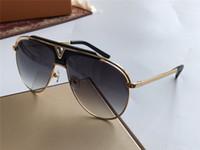 상자 남성 파일럿 선글라스 골드 회색 음영 태양 안경 1030 패션 선글라스 선글라스 UV400 안경 착용 새로운