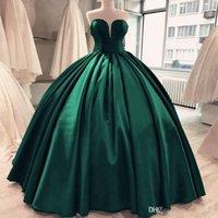 Бальное Зеленый Пром платья Sexy Милая рукавов корсет платье Гламурные знаменитости вечернее платье Quinceanera платье одежды де вечер