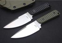 faca reta DC53 Lâmina G10 Handle CNC 60HRC fixo lâmina de caça de acampamento sobrevivência faca Xmas PA 1pcs faca presente
