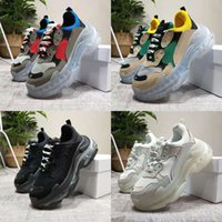 Paris Triple S 17FW Air Cushion Casual Shoes Dad Designer Sh...