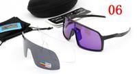 حزمة كاملة العلامة التجارية الجديدة sutro الاستقطاب الدراجات نظارات الرجال النساء الدراجة الوردي دراجة الرياضة 009406A 3 أزواج عدسة الدراجات النظارات الشمسية مع مربع