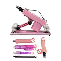 Machine de sexe rétractable automatique pour les femmes Masturbation féminine Robot Machine d'amour sexuel avec gode vibrateur Sex Toys pour les couples