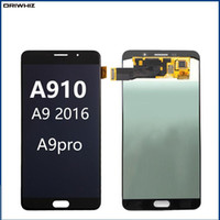 "ORIWHIZ 6.0"" para Samsung Galaxy A9100 LCD A9 Pro A9 2016 A910F display Touch Screen Assembly digitador"