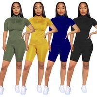 Wholesale Womens Brand Tracksuits 2 Piece set outfits jacket...
