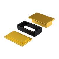 Anthentic LTQ OEM Rosin Pré-prima modo de ouro e mistura cor preta 6061 alumínio aviação com colofónia saco prima 2 * 5 polegadas 5pcs