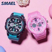 Luxus Smael Kinder Digital Uhren Jungen Uhr Männer Sportuhr Wasserdichte Kinder LED-Anzeige Relogio1643 Kinder Uhren für Mädchen Digital