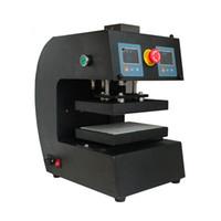 최고의 5tons 자동 전기 로진 프레스 기계 AUP10 1200W 듀얼 열 프레스 접시 DIY Vape 도구 오일 왁스 추출 도구