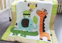 2019 mode baby quilt baumwolle 1 stücke junge mädchen muster größe 84 * 107 cm krippe bettwäsche set für säugling baby bettwäsche set feine quilt