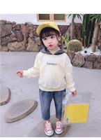 Kinderbekleidung 2020 Frühling und Herbst neue Art und Weise Kind-Mädchen Mode Langarm Hoodies + Jeans Sets