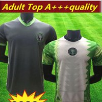 2020 Nigeria New Jersey Football 20 21 Domicile Extérieur MOSES OKOCHA AHMED maillot de pied Nigeria kits MUSA MIKEL chemise Iheanacho football