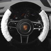 Fourrure volant de voiture couverture 38 F Auto VW Atlas 2015 Accessorie GTI Golf GTI MK7 Golf MK5 MK6 R 4 Passat B8 Jetta 6 Ligne R R32 voiture bling