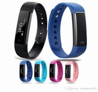 ID 115 ID115 Fitness Smart-Armband-Gesundheits-Band-Verfolger Schrittzähler Activity Monitor Band Wecker ID115 Smart-Armbänder