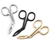 Yeni Sağlık Uygulama Kaş Cımbız Yüz Epilasyon Makyaj Makas Dayanıklı Metal Kozmetik Giyotin Kirpik Clipper İçin Güzellik