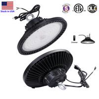 1- 10V Dimmable UFO LED HighBay Lights 5000K 240W 200W 150W L...