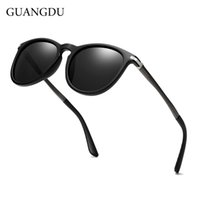 GUANGDU men' s and women' s fashion polarized sungla...