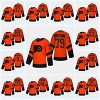 Sean Couturier Philadelphia Flyers 2019 Serie Stadium Jersey Carter Hart Claude Giroux Travis Konecny Gostisbehere Provorov Jakub Voracek