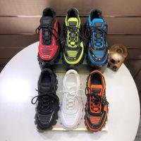 2020 Мужчины Низкий Top Повседневная обувь Lates P Cloudbust Thunder зашнуровать ботинок конструктора 19FW капсулы серии соответствия цвета платформы Роскошные кроссовки