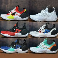 2019 Huarache E.D.G.E Chaussures de course TXT QS GAME ROYAL Huarache 8 EDGE Triple noir blanc Athletic Sport Baskets extérieures sport 40-45