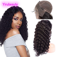 Brazilian Human Hair 13X4 Lace Front Wigs Deep Wave Curly Pr...