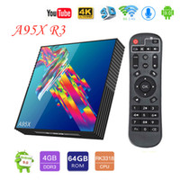 A95X R3 Android 9. 0 Smart TV Box 4G 32GB 64GB Rockchip RK331...