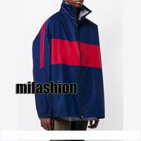 19ss Europe Paris Jacke Street Skateboard Panelled Coat Dünne Winddichte Jacke Schuluniform Outdoorjacke Pizex