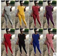 LD8050 Europejska i Amerykańska Noszenie kobiet Amazon sprzedaje modne kombinezony rozrywkowe i producent odzieży sportowej