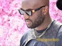 2019 Gafas de sol de lujo MILLIONAIRE M2368 de fotograma completo Gafas de sol de diseñador vintage para hombres Logotipo de oro brillante Venta caliente Top chapado en oro