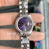 Ladys luxuosos relógios WF fábrica 28mm cal. 2671 Movimento Mulher 13 Estilo Senhoras Diamante Bezel Sapphire Dress Gift Watch