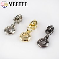 Meetee O Rings Metal Zipper Sliders Zippers Head puller Nylo...