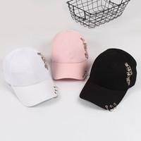 Marca Bt adulto anillo sólido ocasional ajustable del hierro gorras de béisbol del casquillo del Snapback Sombreros Gorra Sombreros Casual Armarios